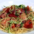Thumbnail for Pasta Noodles with Lobster, Spaghetti Courgette, Tomato and Basil