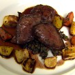 Thumbnail for Roast Pigeon, Roast Vegetables, Savoury Lentils and Pigeon Burger
