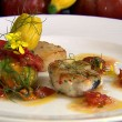 Thumbnail for Inishowen Fish Burger, Mulroy Bay Scallops and Tomato Dressing