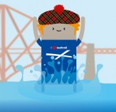 Thumbnail for Scotmid sponsors Loony Dook at start of Scotland's Homecoming Year