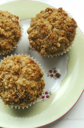 Thumbnail for Apple Crumble Muffins – with a guilt-free secret