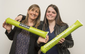 Lakes & Dales Store Managers, Caroline & Becky Celebrate our amazing charity partnership total!