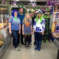 The Keswick Store team took part in a fundraising day wearing Green & Blue raising funds and awareness for Alzheimer's Society raising £171.