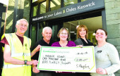 Sarah Hayton stepped out to walk 26 miles all in aid of the Keswick Flood Appeal