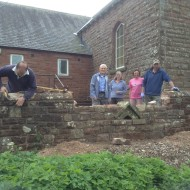 received a grant towards the rennovations taking place at the village hall