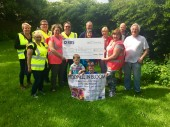 receiving their £650 clothes bank funding