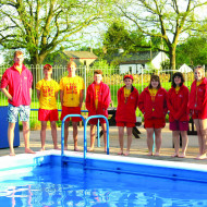 New nationally recognised kits for the lifeguards