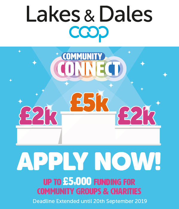 Community Connect APPLY NOW graphic
